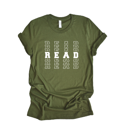 read bella unisex tee
