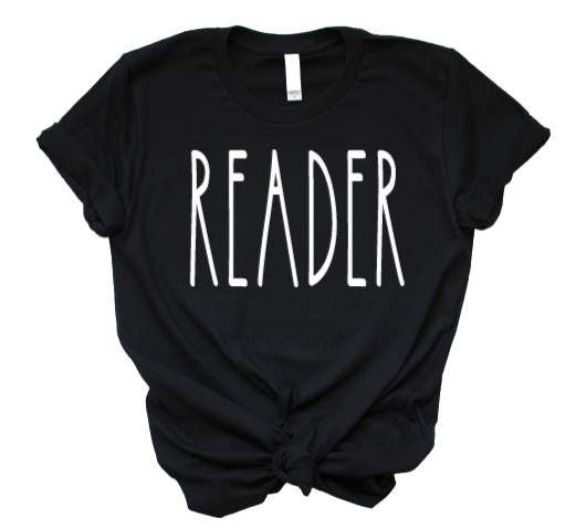 Feature Friday: READER tee