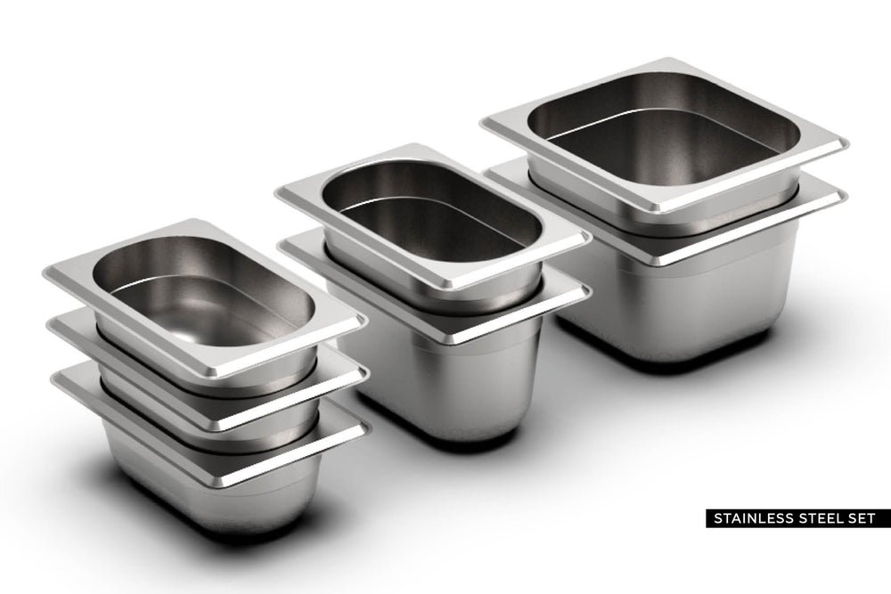 BASIC | BEECH <br> incl. 7 piece container set