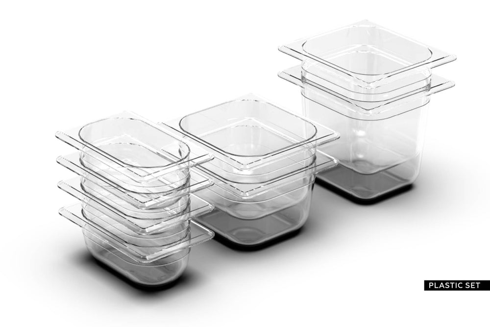 MONO OAK  <br> incl. 8 piece container set