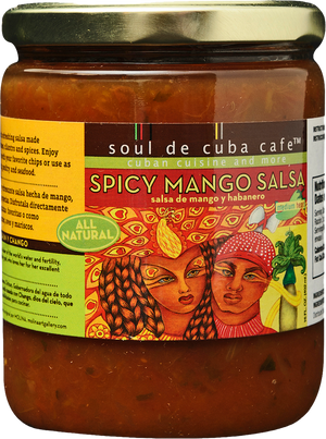 Load image into Gallery viewer, spicy mango salsa - soul de cuba online market