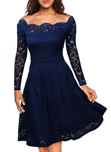 Cia - Vintage Floral Lace Dress