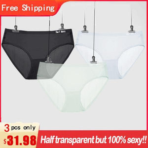 【BUY 2 GET 1 FREE】Genuine Carl Kern Ice Silk Underwear for Women