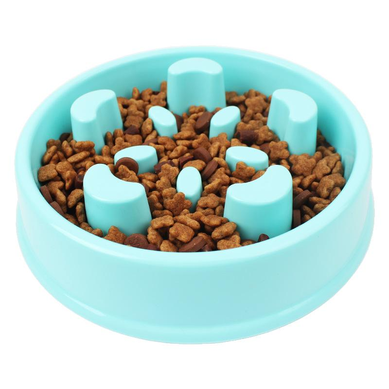 Pet Slowing Eating Bowl For Reduce Obesity - Carrywon