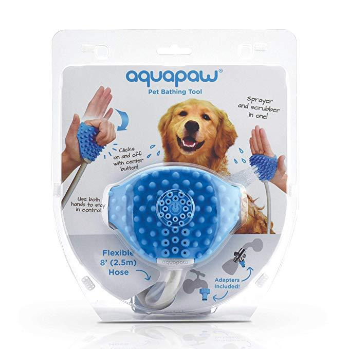 Pet Bathing Tool | Pet Shower Sprayer and Scrubber in-One