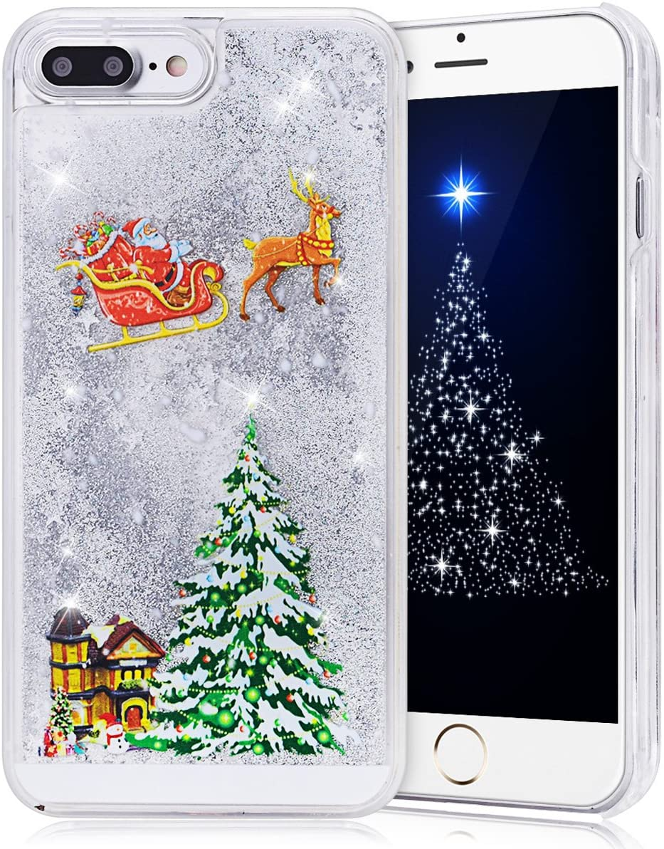 🎅🎁Xmas Hot Sale! Christmas Creative Liquid iPhone Case 【BUY 2 FREE SHIPPING】