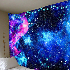 Galactic Exploration Tapestry