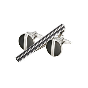 Cufflink & Tie Bar Set