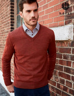 Load image into Gallery viewer, Merino V Neck Sweater