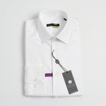 Load image into Gallery viewer, Berlin Slim Fit Long Sleeve Dress Shirt, No Pockets