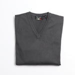 Load image into Gallery viewer, Cotton V Neck Sweater
