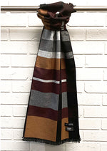 Load image into Gallery viewer, Striped Scarf