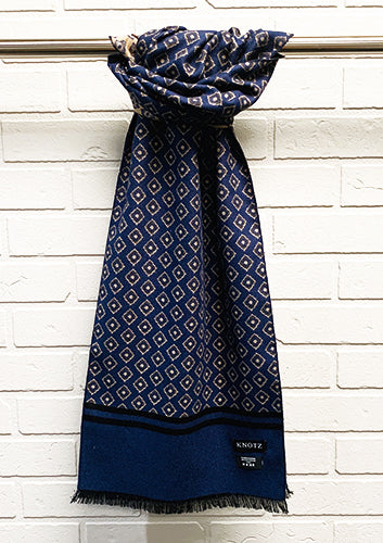 Men's Geometric Scarf