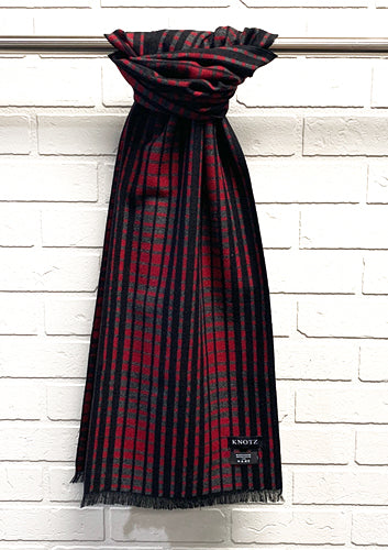 Men's Checkered Scarf