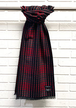 Load image into Gallery viewer, Men's Checkered Scarf