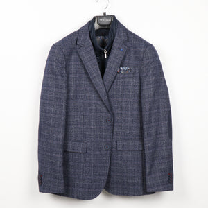 Blue Blazer with Elbow Patch