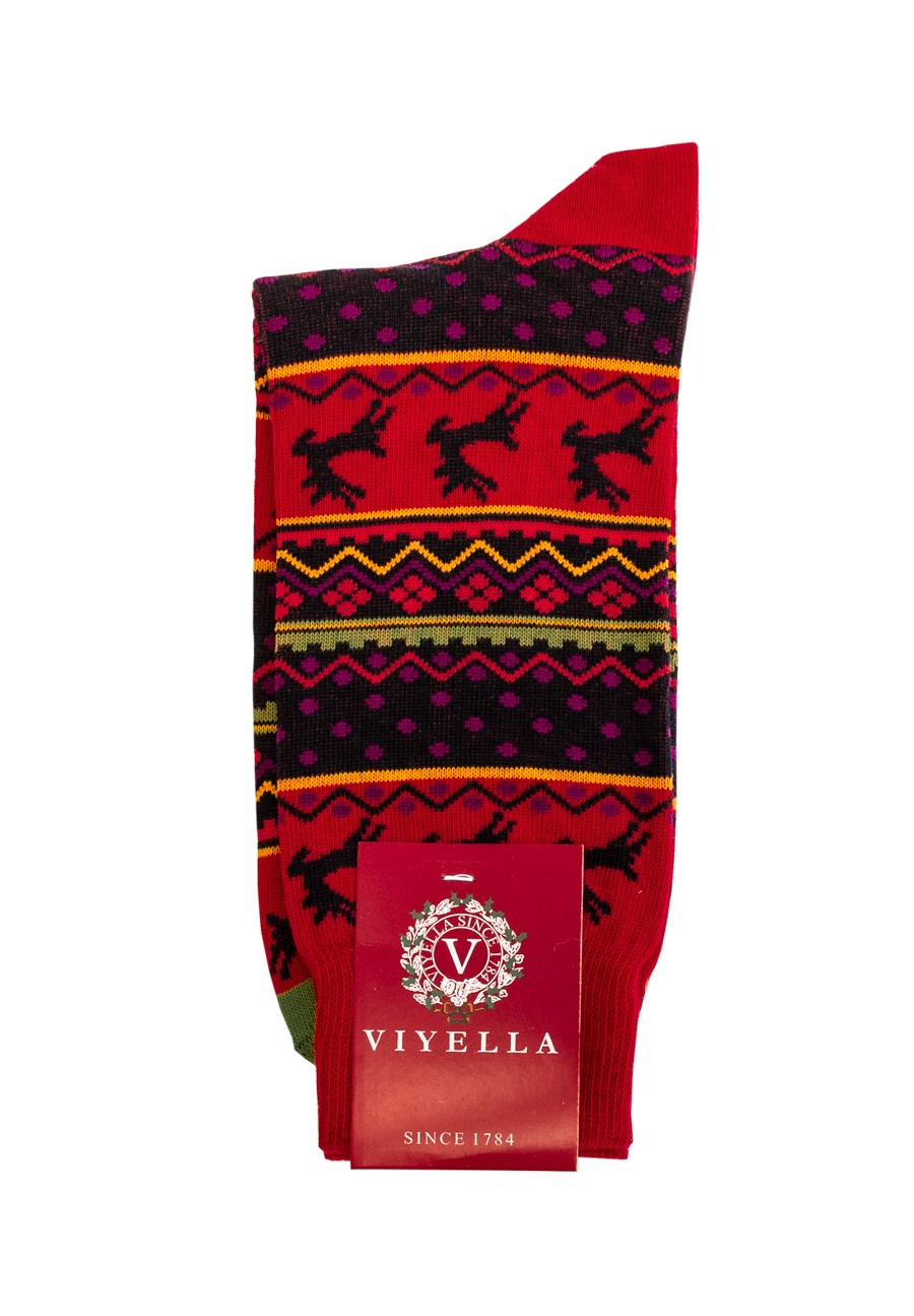 Men's Fairisle X-MAS Sock