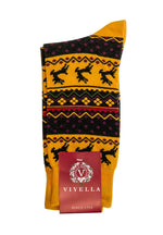 Load image into Gallery viewer, Men's Fairisle X-MAS Sock