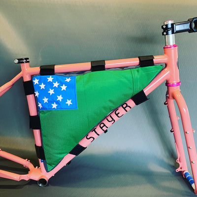 Flag Custom Frame Bag