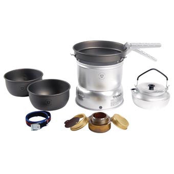 TRANGIA 27-8 ULTRALIGHT HARD ANODIZED stove and cook set