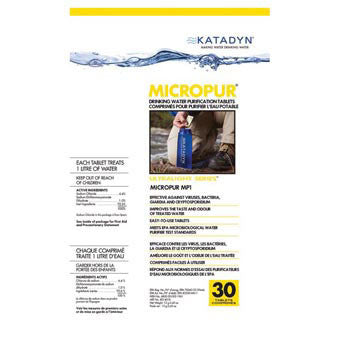 MICROPUR TABLETS KATADYN