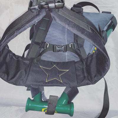 Frame bag backpack