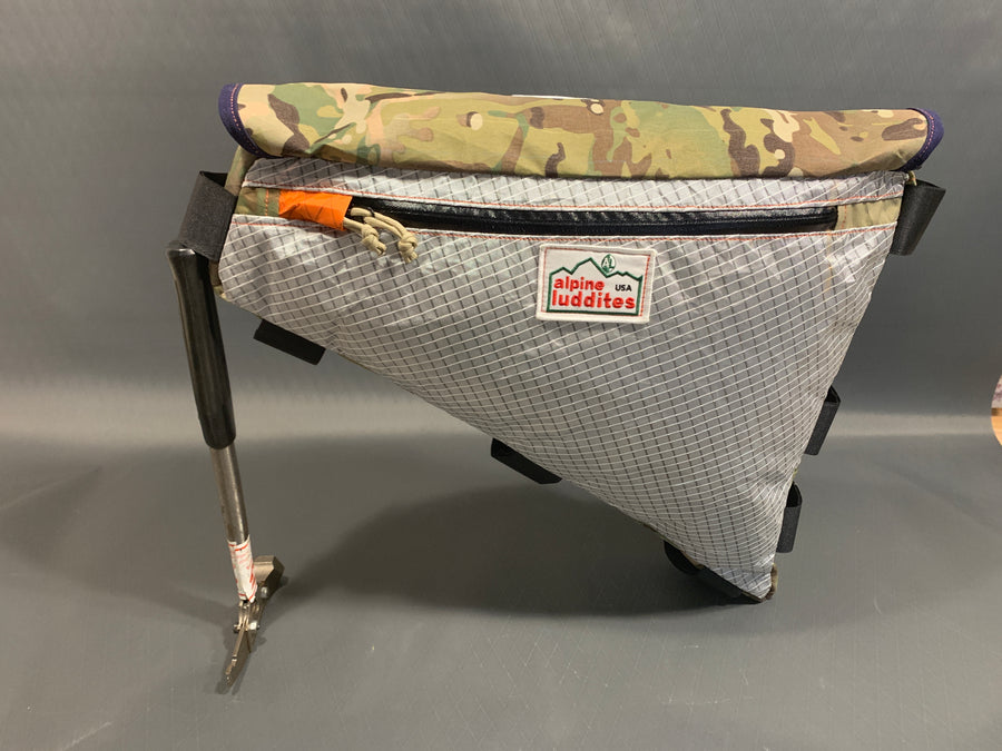 Top load frame bag
