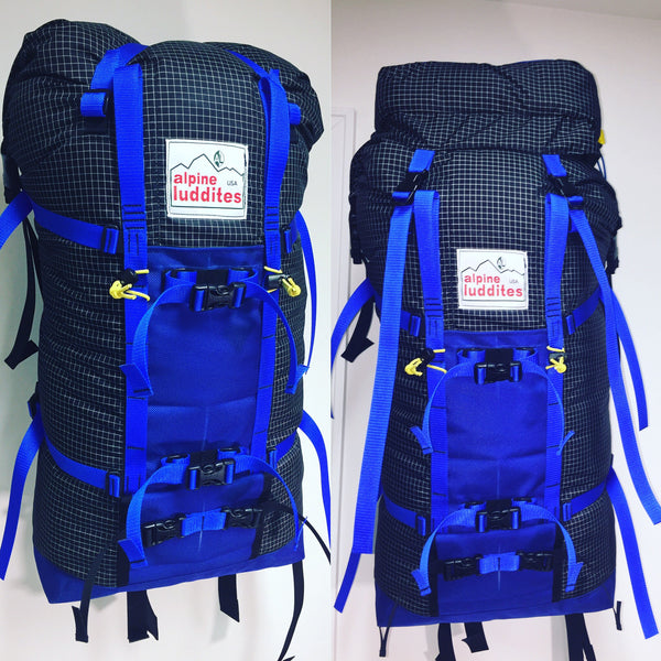 Alpine Luddites-Full Custom Backpacks