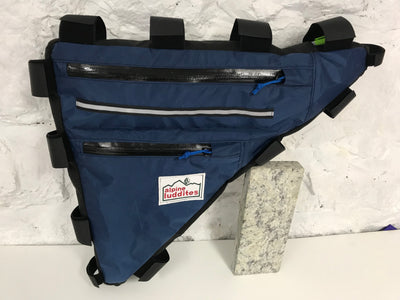 Custom Frame Bag-  Two Compartment