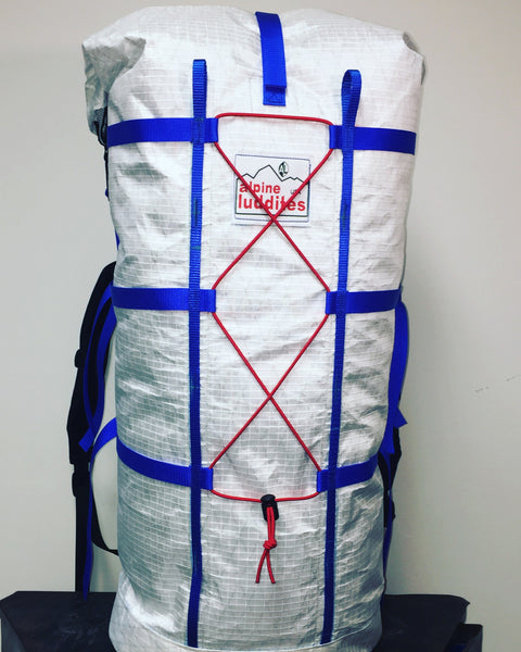 40L & 50L Alpine Machine  Roll Top Pack
