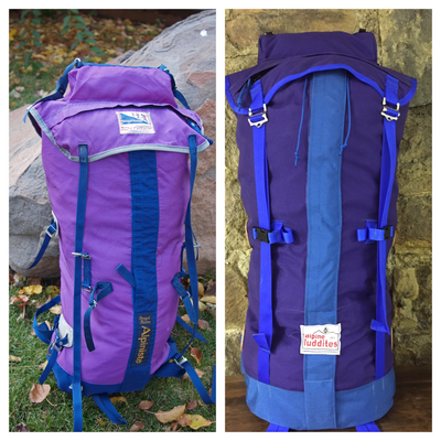 Old Pack Repair/ Rebuild/ Recreate service