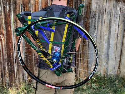 Frame bag backpack - Alpine Luddites