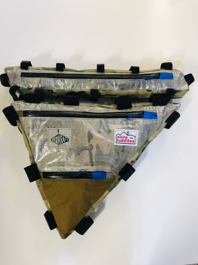 Custom Frame Bag-  Two Compartment - Alpine Luddites