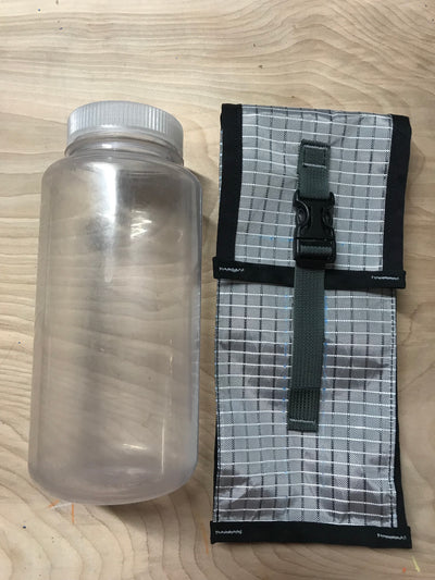 Pleated Water Bottle Pockets