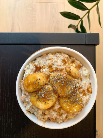 Caramelised Oatmeal with Adaptogens
