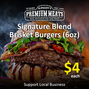 Signature Ground Brisket/Chuck Burger (6oz)