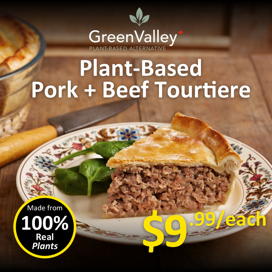 Green Valley Canada Plant Based Tourtiere