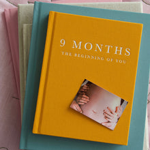 Load image into Gallery viewer, 9 Months With You Pregnancy Baby Journal