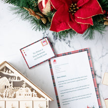 Load image into Gallery viewer, Printable Santa Letter Set