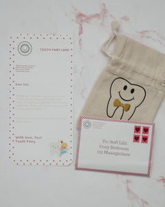 Tooth Fairy Letter and Envelope Set: Printable