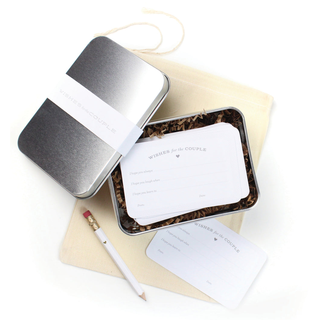 Wedding Guest Book Cards
