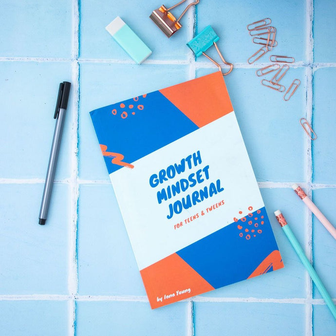 Growth Mindset Journal for Teens and Tweens