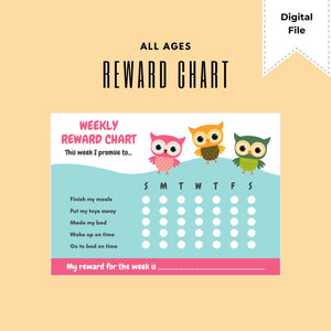 FREE Printable: Reward Chart