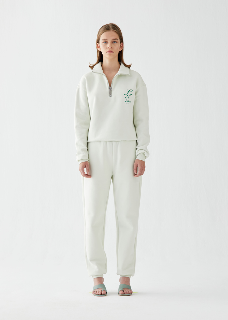 Marine Mint Green Sweatpants