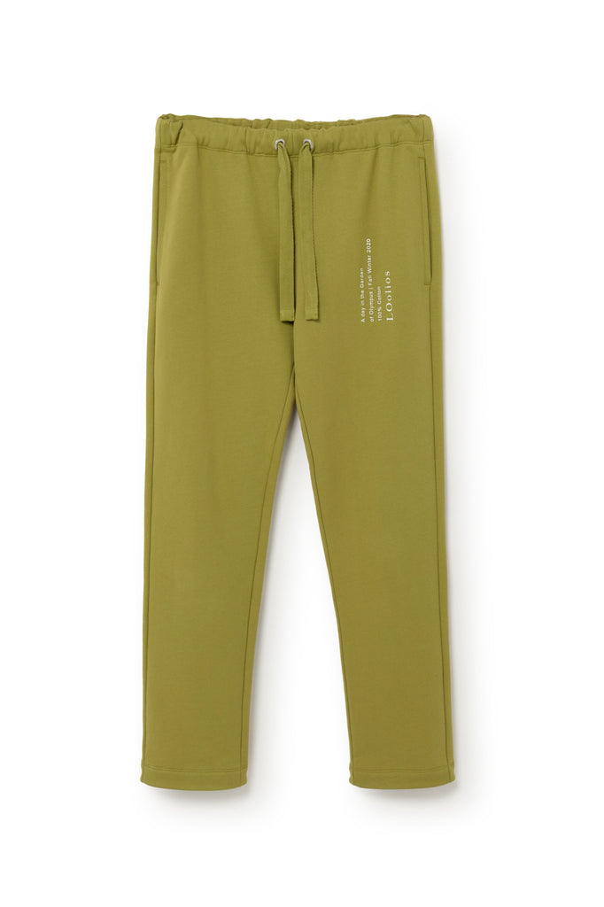 Hephaestus Sweatpants Green Moss