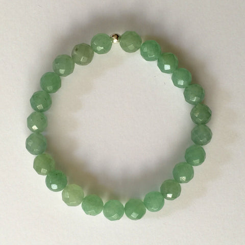 Aventurine (faceted)