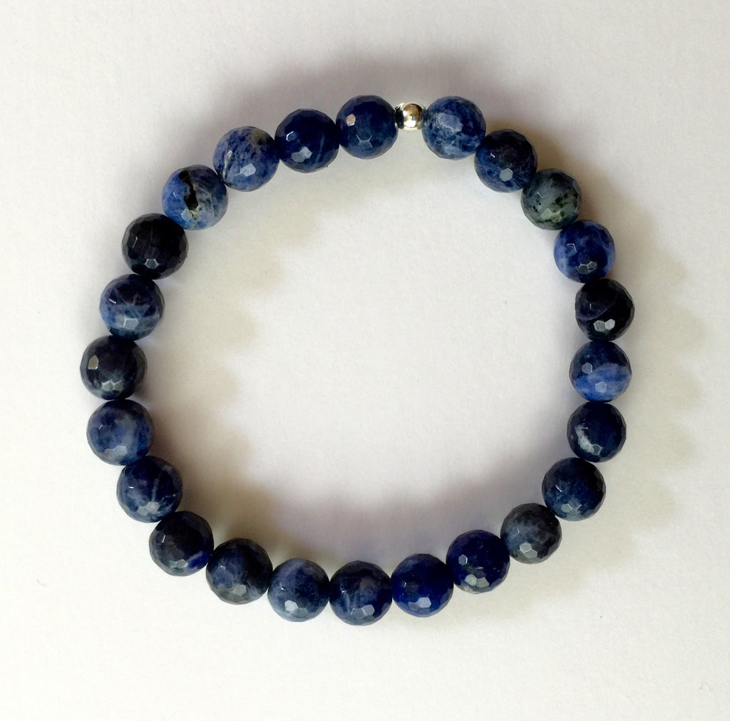 Sodalite (faceted)