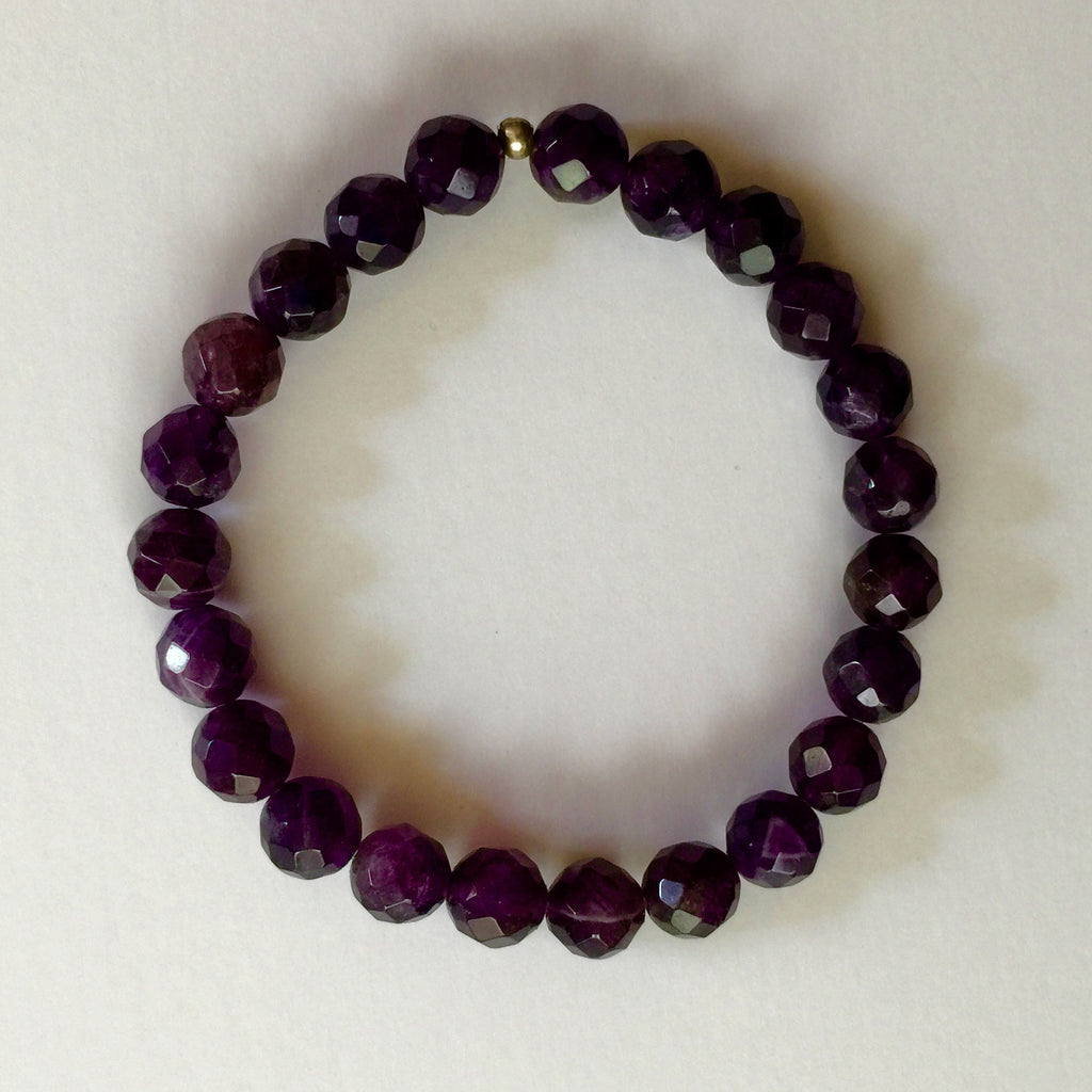 Amethyst (faceted)
