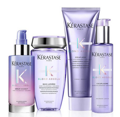 Routine Kerastase Blond Absolu hydratation et brillance 24/7