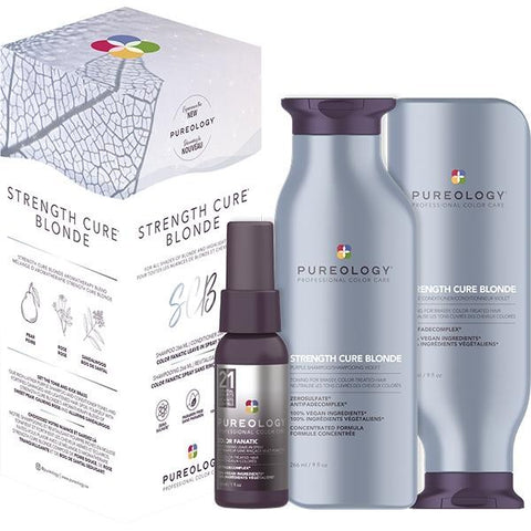 Coffret Cadeau Pureology STRENGTH CURE Best Blonde
